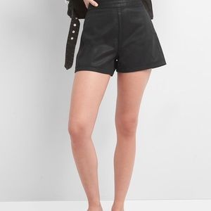 NWOT Gap Coated Denim High Waisted Shorts